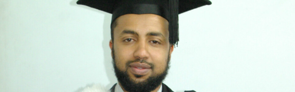 My name is Hadi and I am a science graduate