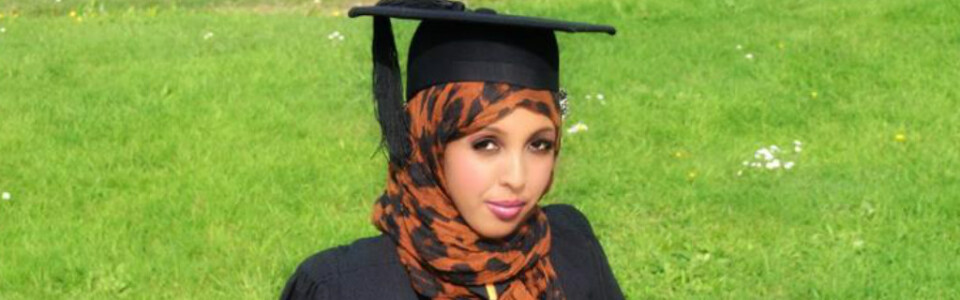 Nasteho – I am a psychology graduate.